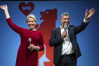 Sociálni demokrati tesne zvíťazili nad konzervatívcami.