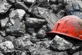 Background design of coal mining.
