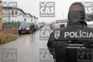 Polícia zadržala Plačkovú a jej manžela v Miloslavove.