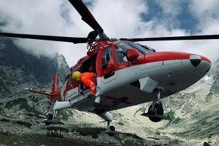 Záchranári leteli na pomoc českému turistovi.