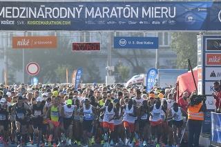 Medzinárodný maratón mieru v Košiciach 2021.