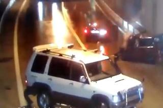 Zrážka v tuneli v Soči