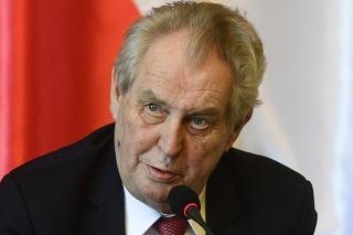 Český prezident Zeman