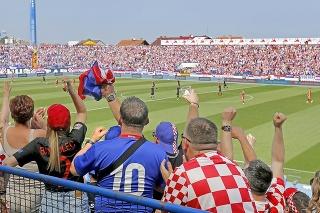 Očakáva sa, že štadióna Gradski vrt v Osijeku bude dnes vypredaný.