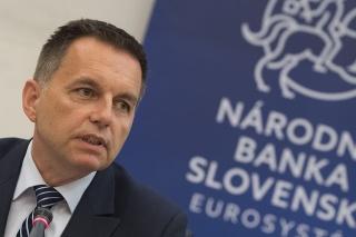 Guvernér Národnej banky Slovenska Peter Kažimír
