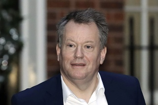 Britský vyjednávač pre brexit David Frost