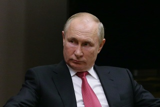 Ruský prezident Vladimir Putin a prezident Turecka Recep Tayyip Erdoğan.