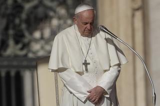 Pápež odsúdil