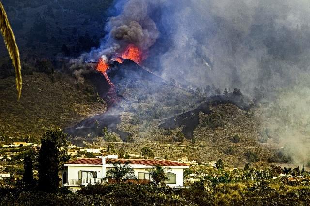 Sopka naKanárskych