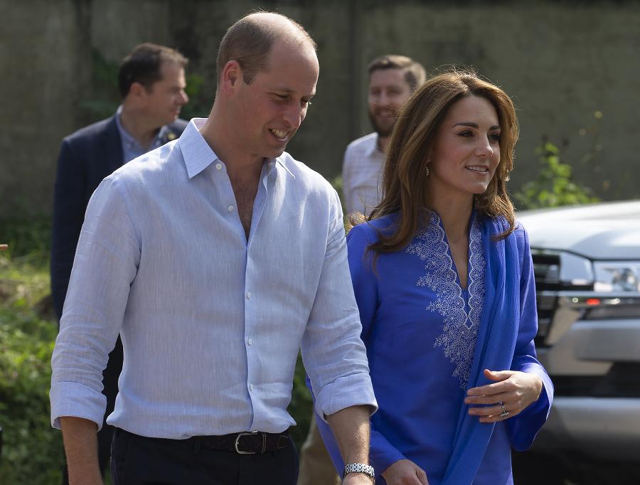 Princ William a vojvodkyňa
