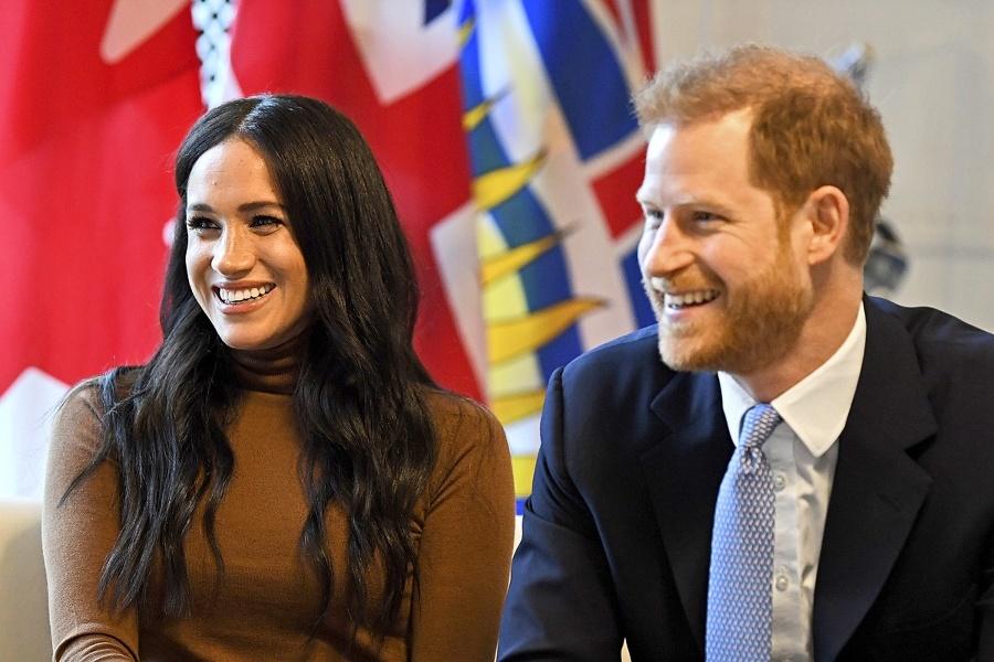 Kráľovský pár Harry a