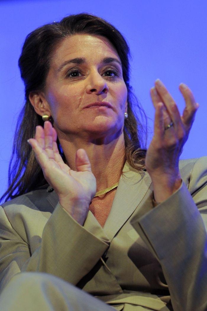 Manželka Billa Gatesa Melinda.