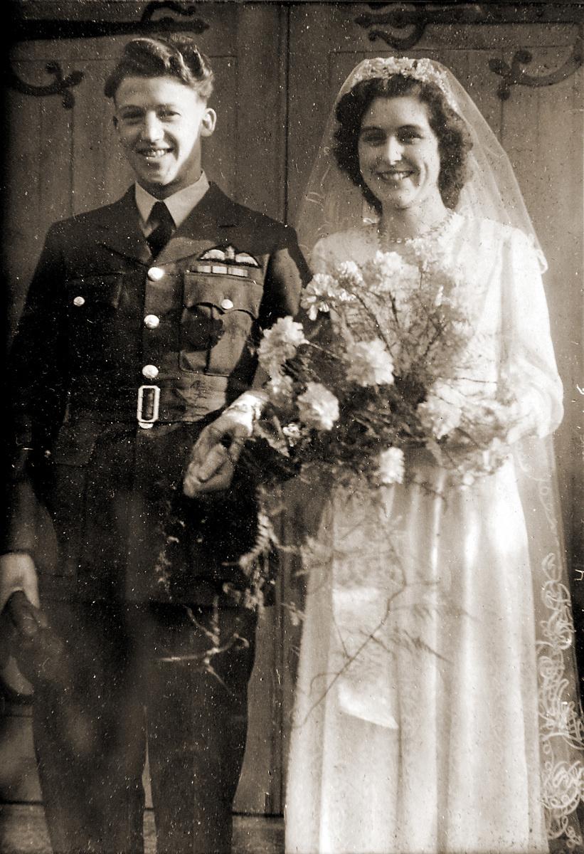 1946: Svadobný deň si
