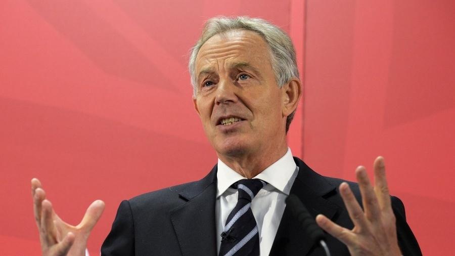 Bývalý britský premiér Tony