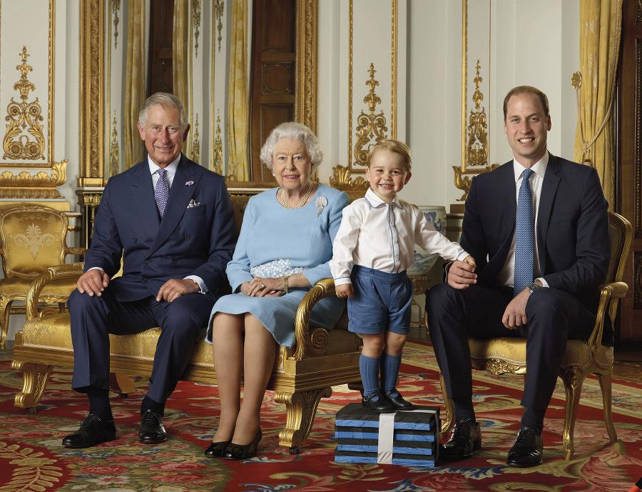 Portrét kráľovnej, jej syna,