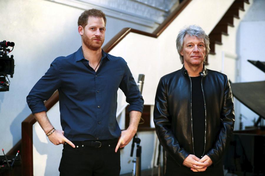 Princ Harry a Jon