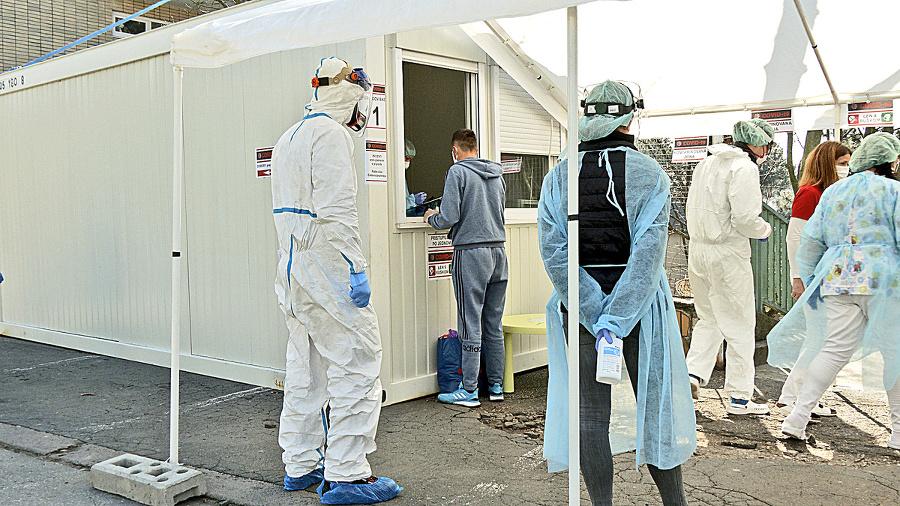 Priebeh testovania na koronavírus