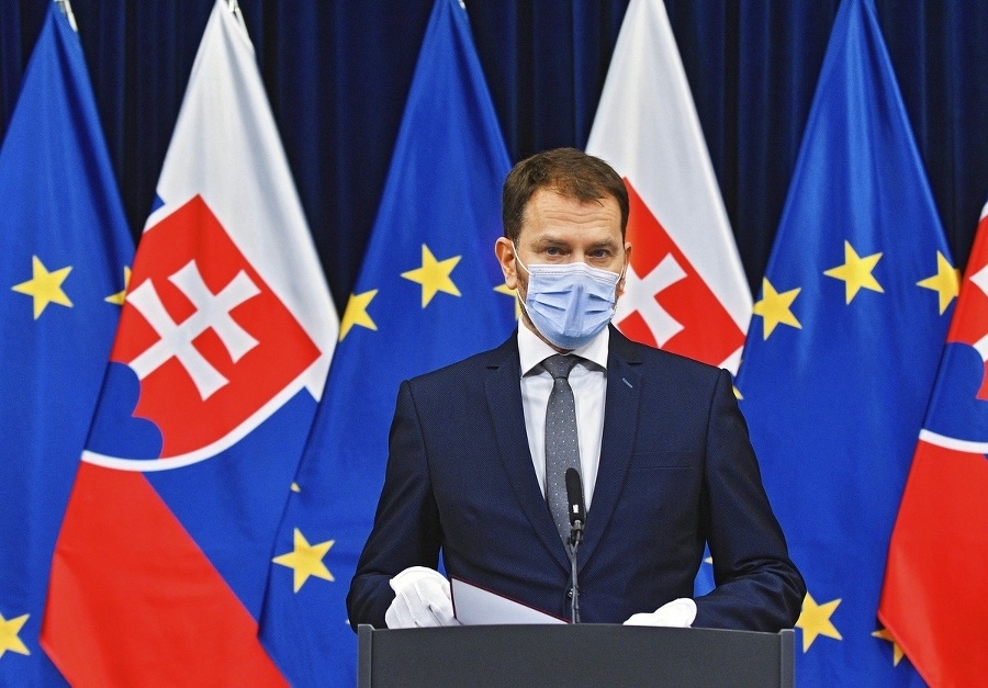 Nový premiér Igor Matovič