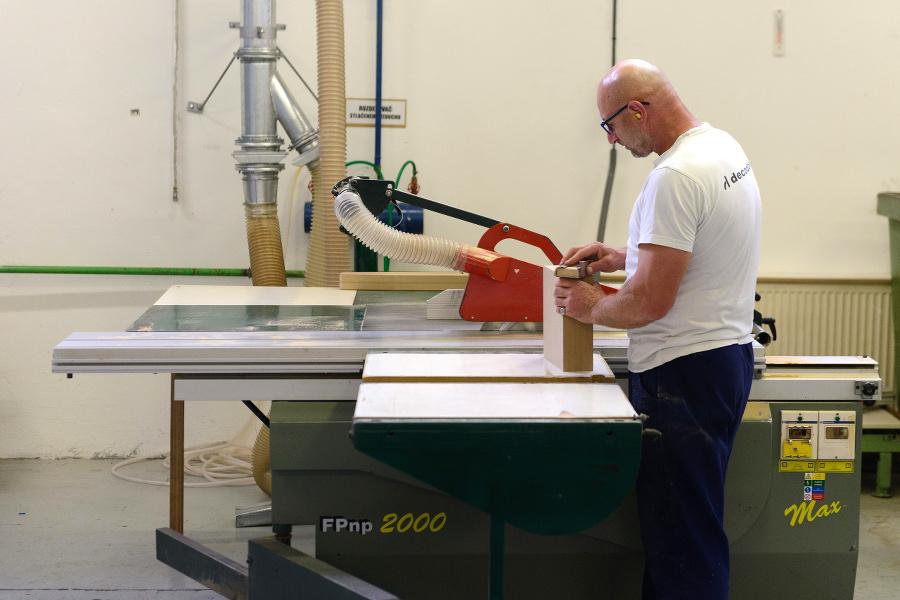 Výrobné priestory slovenského výrobcu