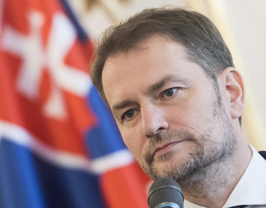 Líder OĽaNO Igor Matovič