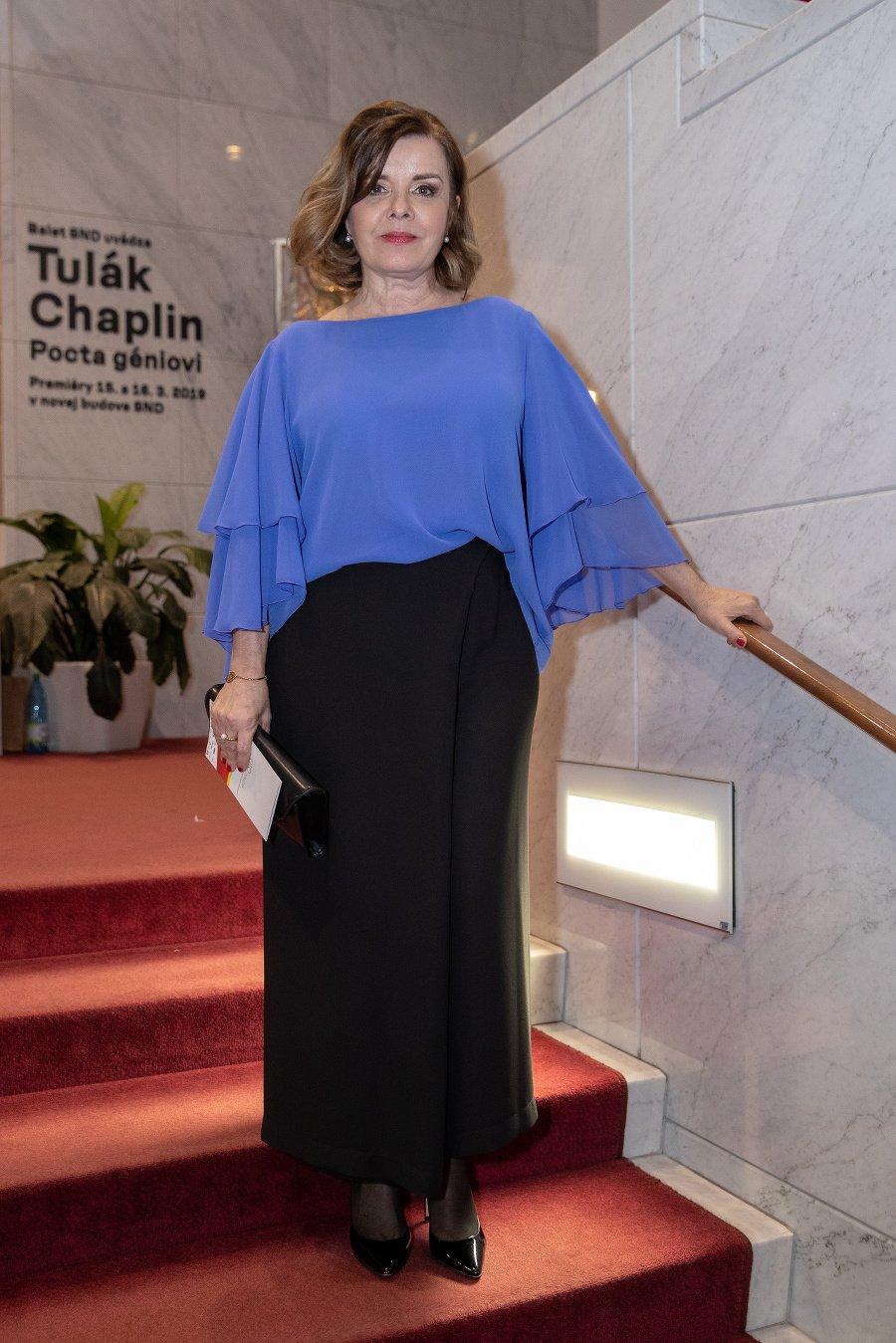 Herečka Zuzana Tlučková