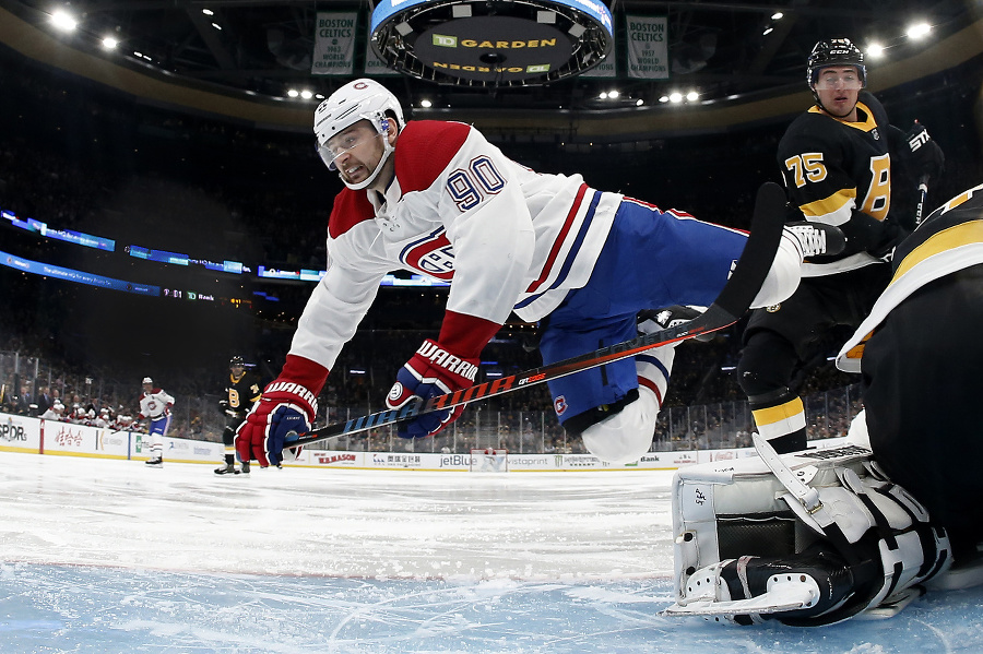 Hokejista Montrealu Canadiens Tomáš