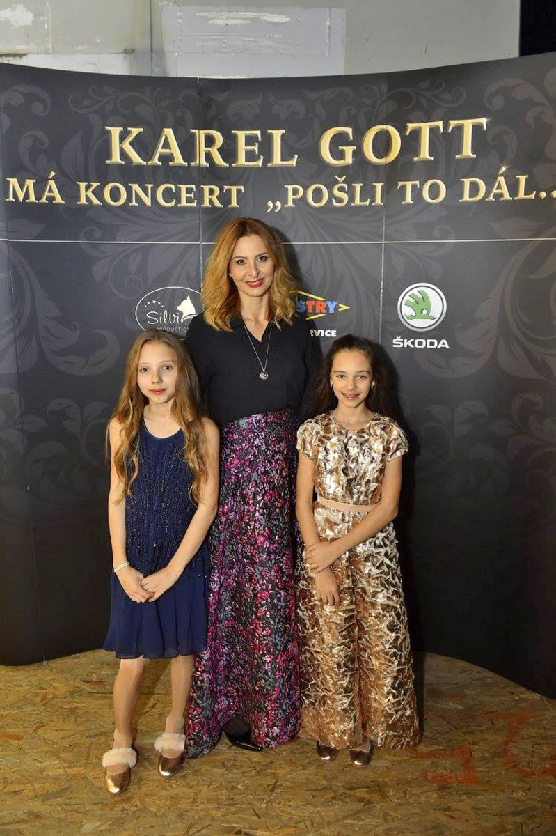 Ivana Gottová s dcérami