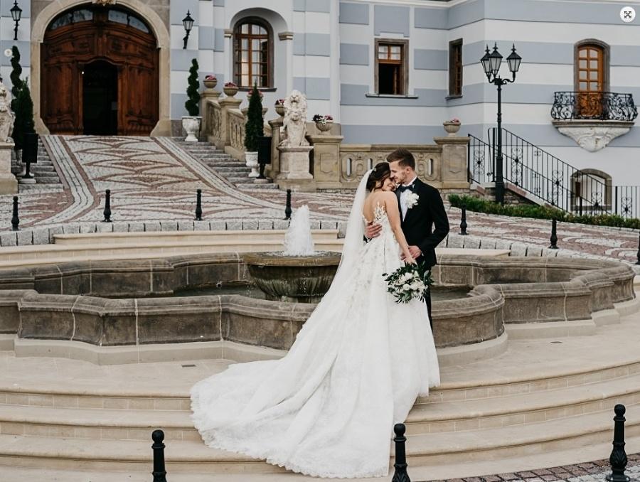 Petra Sliacka počas svadobného