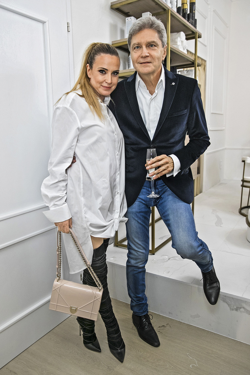 S manželkou Erikou Judínyovou