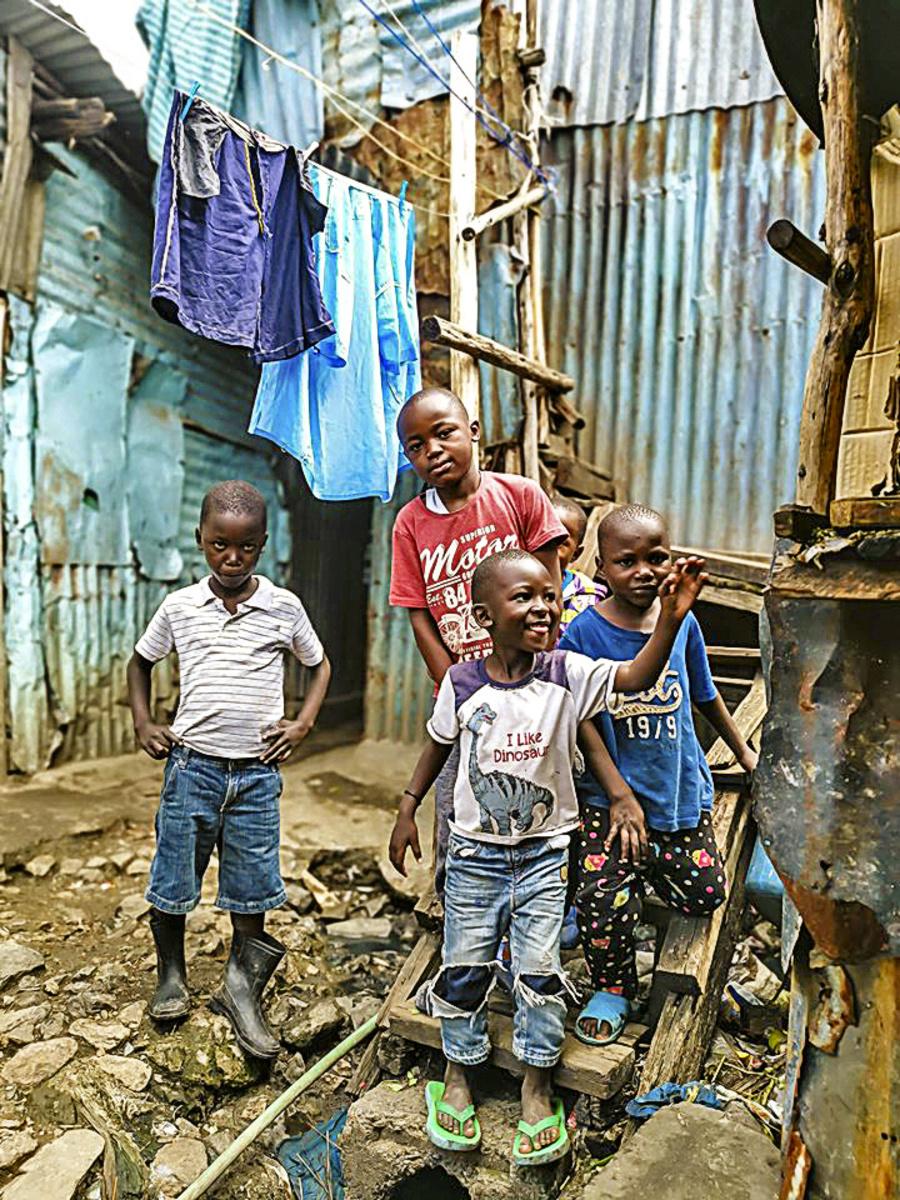 Deti v tomto slume