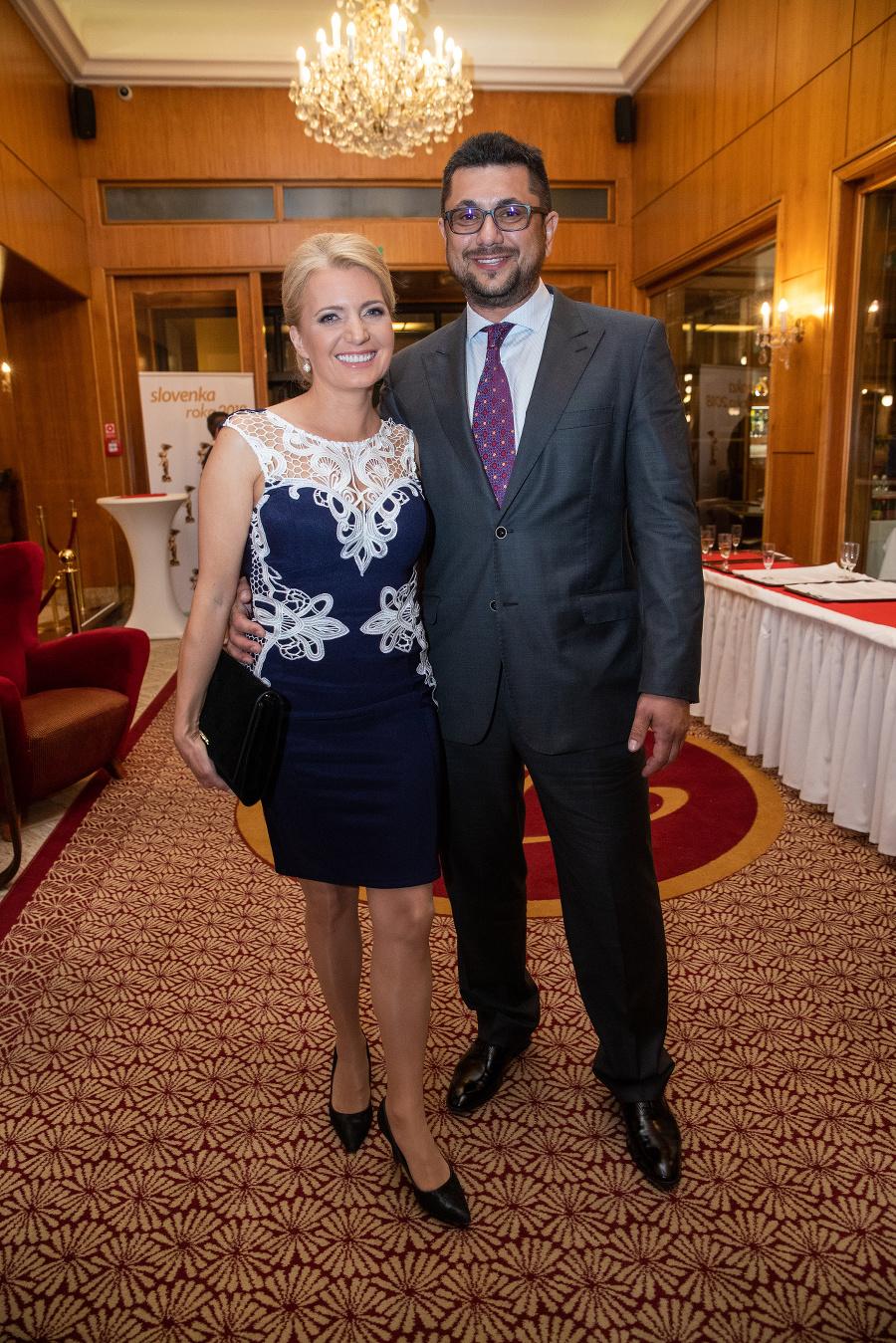 Aneta s manželom Mirom