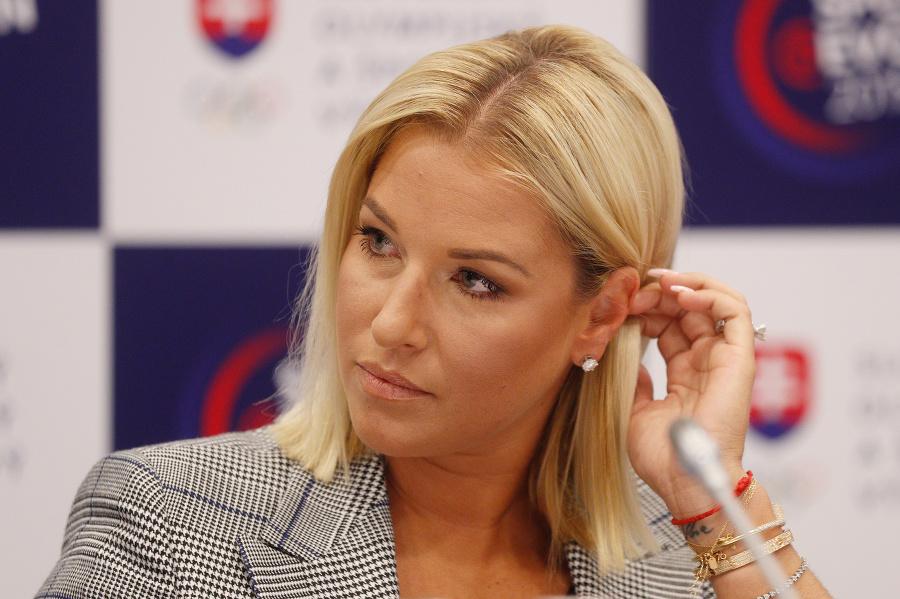 Dlhodobo zranená Dominika Cibulková.