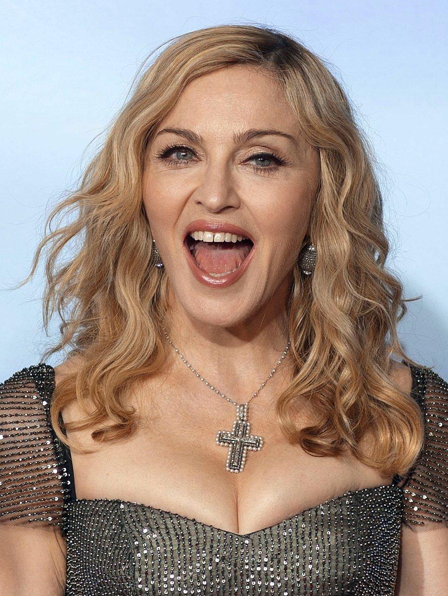 Speváčka Madonna