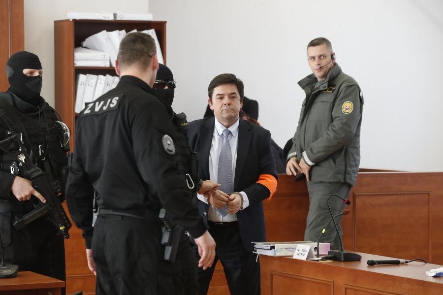 Obžalovaný Marian Kočner na