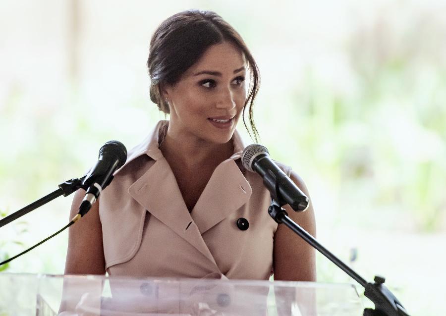Vojvodkyňa zo Sussexu Meghan.