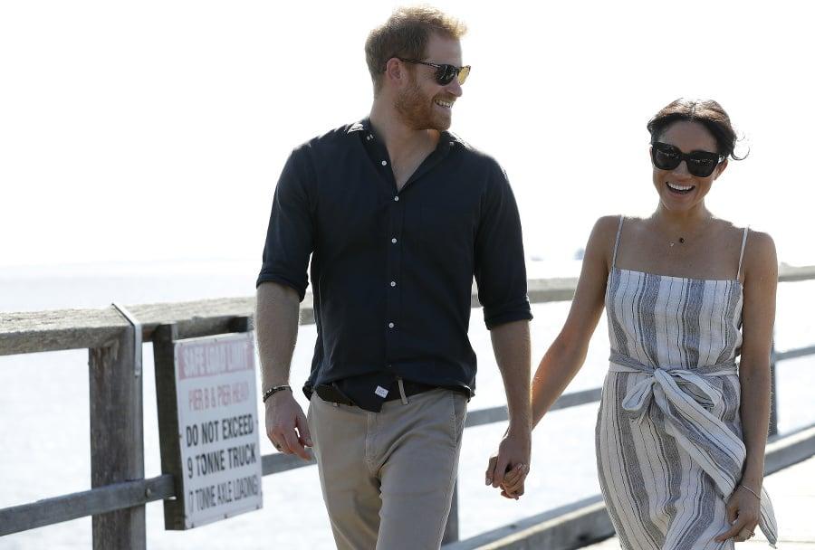 Princ Harry a vojvodkyňa