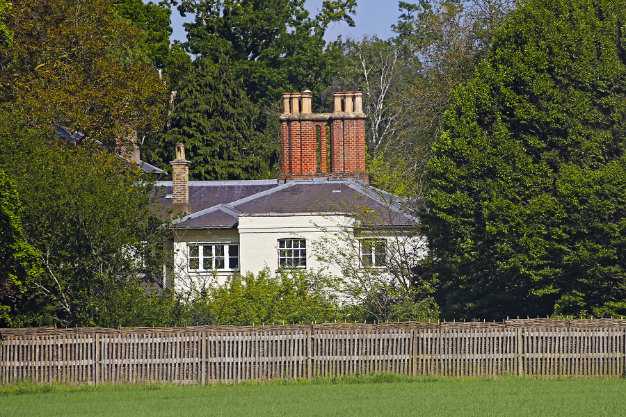 Frogmore, Británia: Britské sídlo