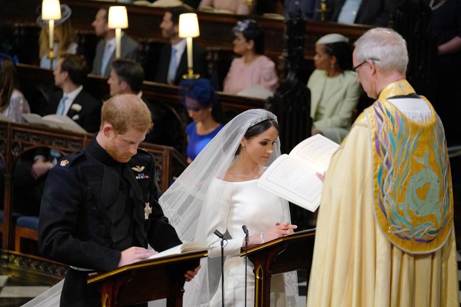 Svadba princa Harryho a