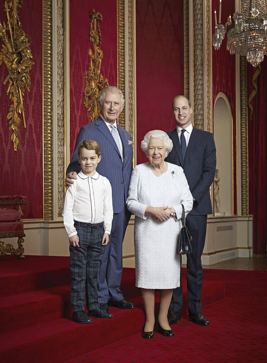 Kráľovná Alžbeta a následníci