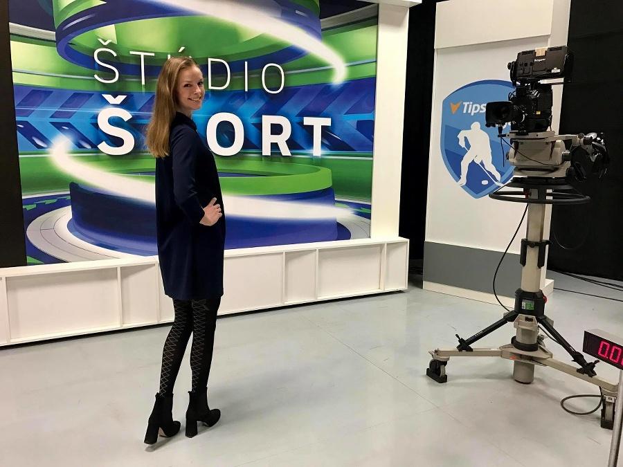 Redaktorka RTVS Barbora Žiačiková.