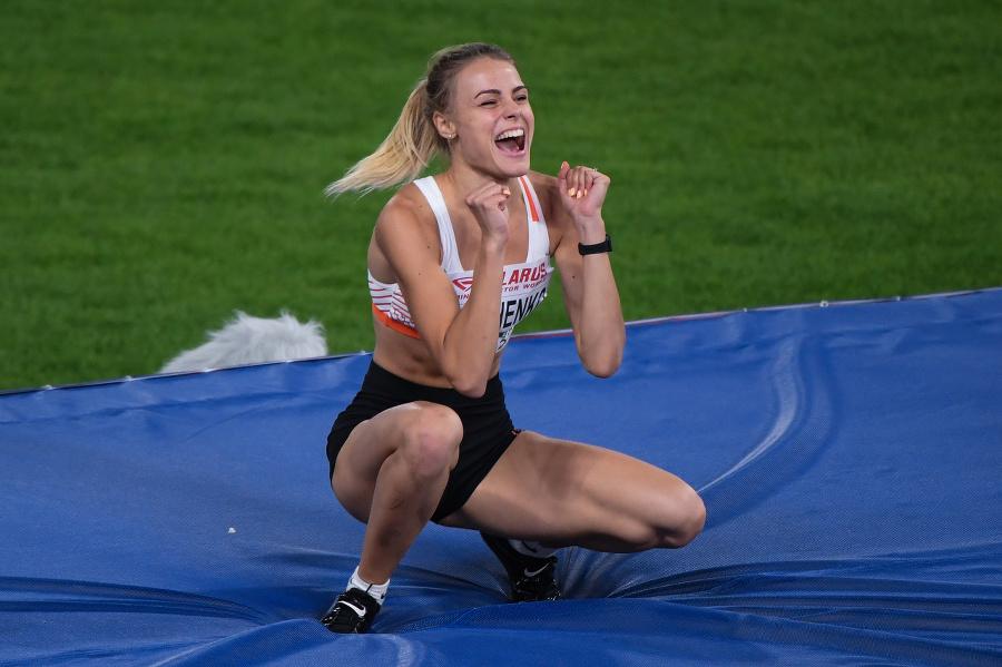 Aj takéto krásky má v ponuke atletika: Sexi Ukrajinka