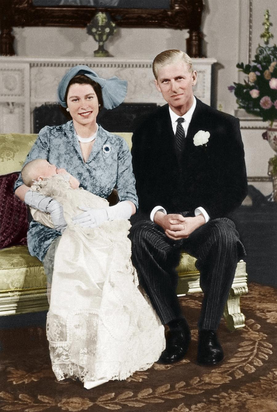 Kráľovná Alžbeta II, princ