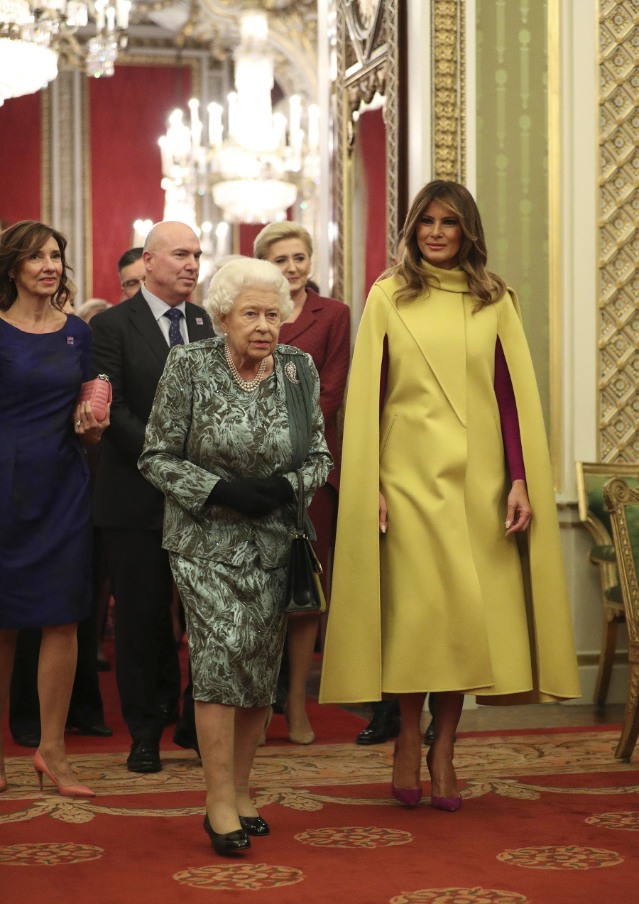 Britská kráľovná Alžbeta II.