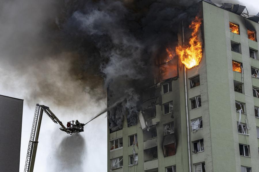Po výbuchu plynu v