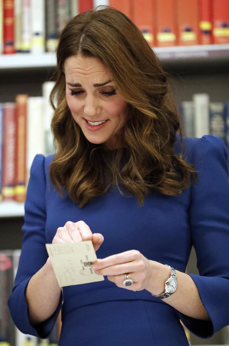 Vojvodkyňa Kate v londýnskom