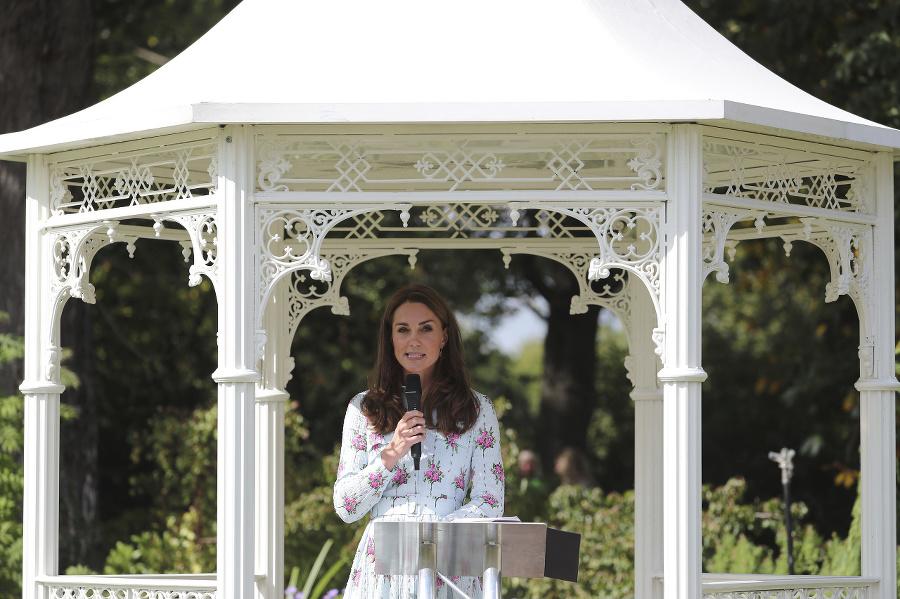 Vojvodkyňa z Cambridgea počas