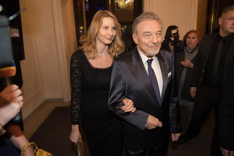 Maestro Gott s manželkou