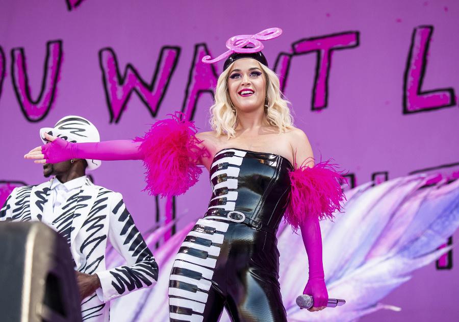 Speváčka Katy Perry