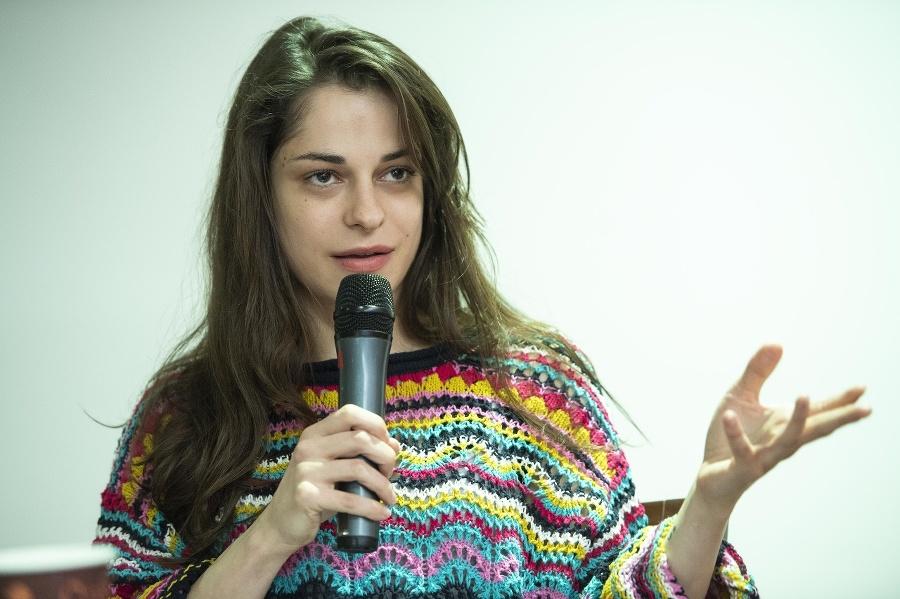 Herečka Monika Potokárová