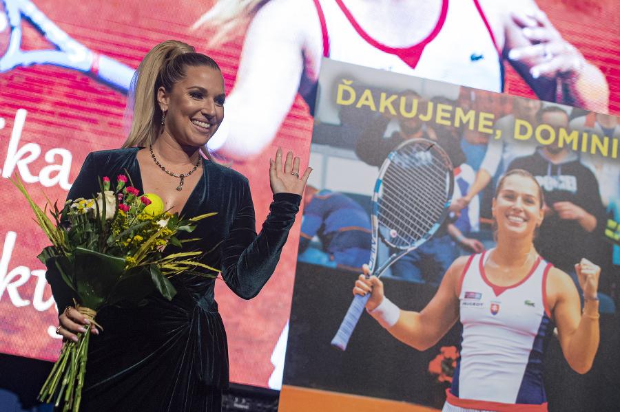 Dominika Cibulková sa lúči